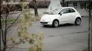 Fiat 500 Срещу Двама BMX-ъри - Top Gear