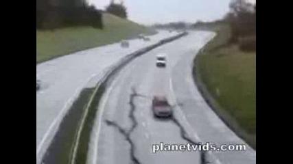 Потресаващо земетресение