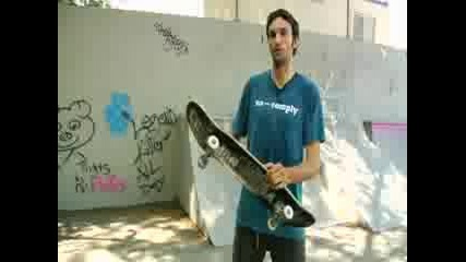 How to do kickflip with Skate Board