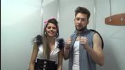 Dancing Stars - Михаела и Светльо - Честит първи април! (01.04.2014г.)