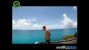 Изродски скок от хотел в морето