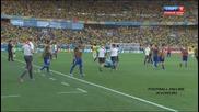 28.06.14 Бразилия - Чили 3:2 (1:1) след дузпи *световно първенство Бразилия 2014 *