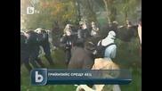 Арести на активисти на Грийнпийс във Франция