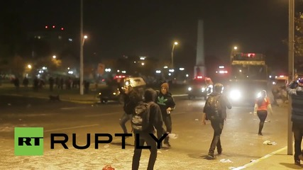 Chile: Clashes erupt in Santiago as fans celebrate 5-0 win over Bolivia