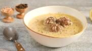 Рецепта за супа топчета с лимон