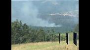 Пожарът край българо-турската граница е овладян