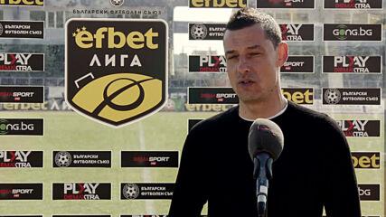Томаш: Работата с Бербатов е плюс за футболистите и това се вижда