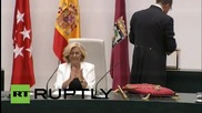 Spain: Podemos-backed Manuela Carmena sworn in as Madrid's new mayor