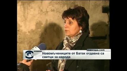 Православната църква канонизира мъчениците от Батак