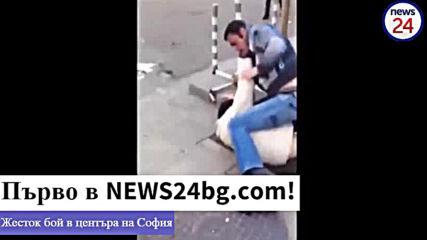 Само В News24bg.com! Жесток бой в центъра на София заради цар Калоян