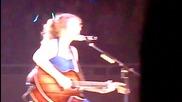 Taylor Swift - Fifteen Live in Tokyo Japan Speak Now Tour February 16 2011