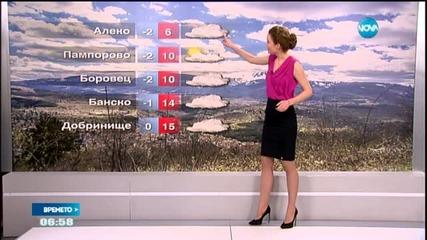Прогноза за времето (24.04.2015 - сутрешна)