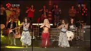 Shakira - Waka Waka ( Performance in China for New Years Eve)