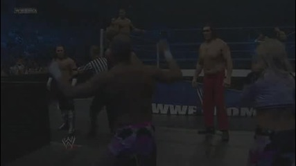Wwe Smackdown 15.1.2010 The Hart Dynasty vs Cm Punk and Лyк Бесилото vs Matt Hardy and Great Khali