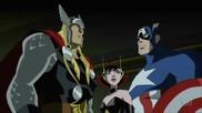 Отмъстителите: Най-могъщите герои на Земята / Капитан Америка, Тор, Оса и Мис Марвел с/у извънземни