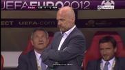 Роналдо изстреля Португалия на полуфинал с коватен гол с глава ( Чехия 0 - 1 Португалия ) 21.06.2012