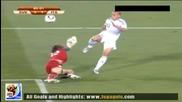 24.06.2010 Словакия - Италия 3:1 Гол на Камил Копунек - Мондиал 2010 Юар