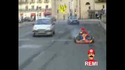 Remi Gaillard - Mario Cart