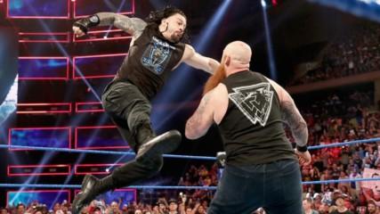 Roman Reigns aur Erick Rowan ke beech hua ek ghamasaan yudh Blue Brand par: SmackDown LIVE, Sept. 11, 2019