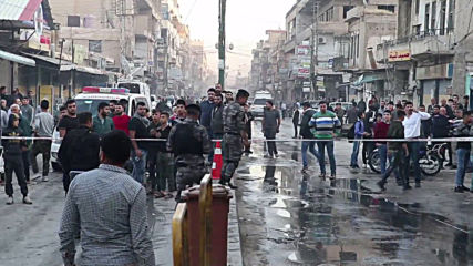 Syria: At least 5 killed, 20 injured after multiple bombings hit Qamishli