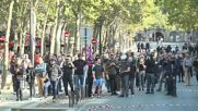 France: Police and protesters battle in Paris during Labour reforms demo