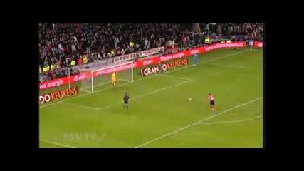 Psv - Tottenham 0:1 Дузпите . Бербатов Gg.