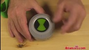 Ben 10 Ultimate Chest Badge Toy Review Unboxing