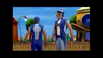Lazy Town - No Ones Lazy In Lazy Town