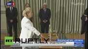 Greece: Vasiliki Thanou sworn in as interim prime minister of Greece