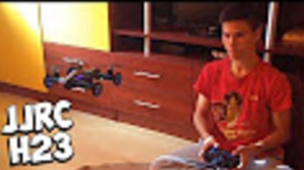 JJRC H23 - Летяща количка - Ънбоксинг и тест