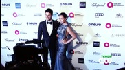 CW Stars Glam Up Elton John's Oscars Party