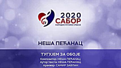 Nesa Pecanac - Tugujem za oboje Sabor narodne muzike Srbije 2020.mp4
