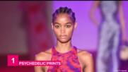 5 Big trends at New York Fashion Week