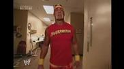 Brock Lesnar & Hulk Hogan Backstage | Wwe Smackdown 6.2.2003