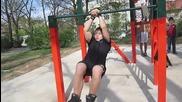 *част 2* Уличен Фитнес Плевен ( Събиране 11.04.2012 )