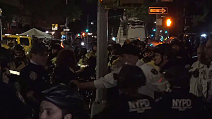 USA: Police swarm BLM protesters, arrests dozens in NYC