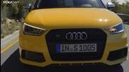 Малкия звяр - Audi S1 Sportback Test Drive