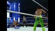 Bad News Barrett vs Kofi Kingston