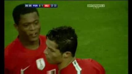 Cristiano Ronaldo vs.porto!!!