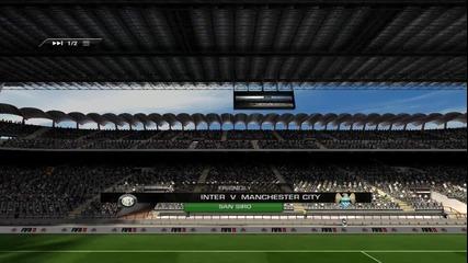 Fifa 11 Online # Inter vs Man.city