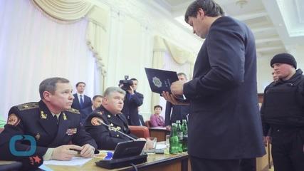 Drama as Ukraine Arrests Officials Suspected of Corruption on Live TV