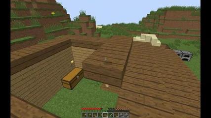 Minecraft Оцеляване с момиче! Епизод 1 - Къщата.