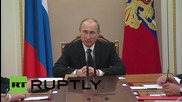 Russia: Putin chairs Security Council meeting with focus on Yemen