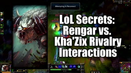 rengar vs kha zix league of legends
