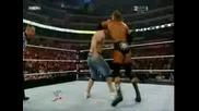 WWE Джон Сина Срещу Трите Хикса - Night Of Champions 2008