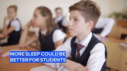 Here's why California wants its students to sleep more