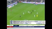 """""""Марсилия"""" запази преднината си във Франция след 2:1 над """"Ланс"""""""