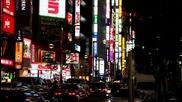Токио през нощта [hq]