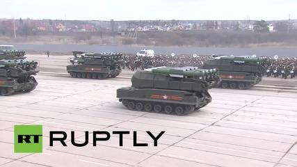 Руската армия се подготвя да празнува Деня на победата