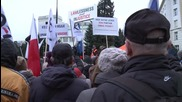 Poland: Protesters decry PiS' constitutional changes outside parliament